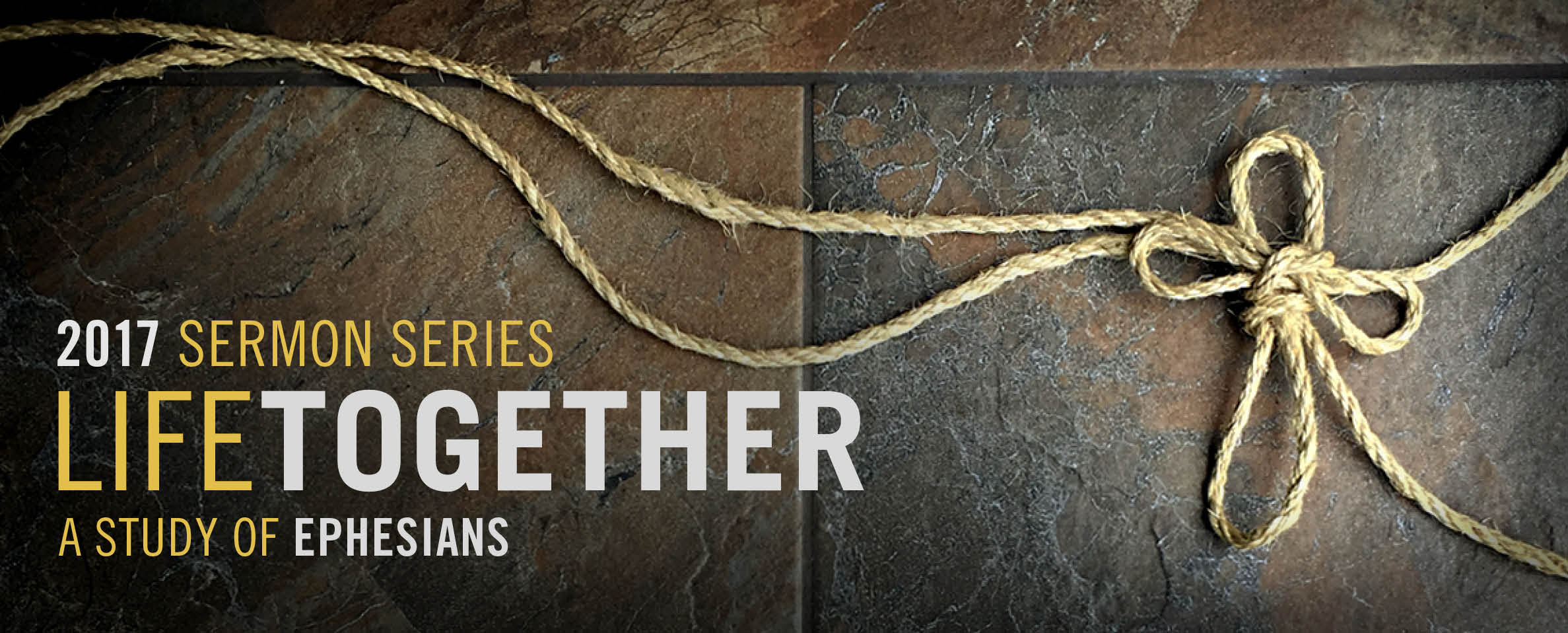 Sermon Series: Life Together