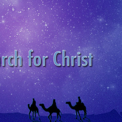 Sermon Series: The Search for Christ - Advent 2016