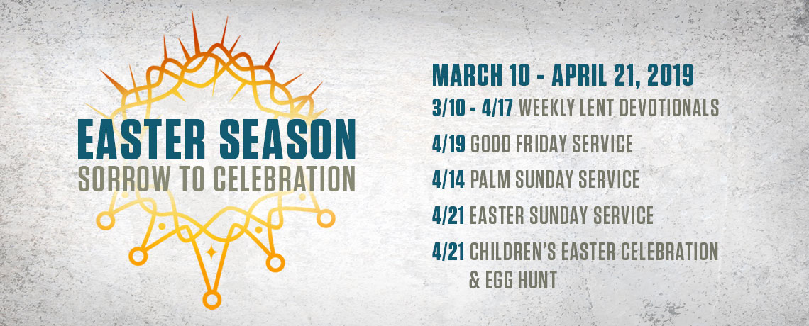 Easter Season Sorrow to Celebration