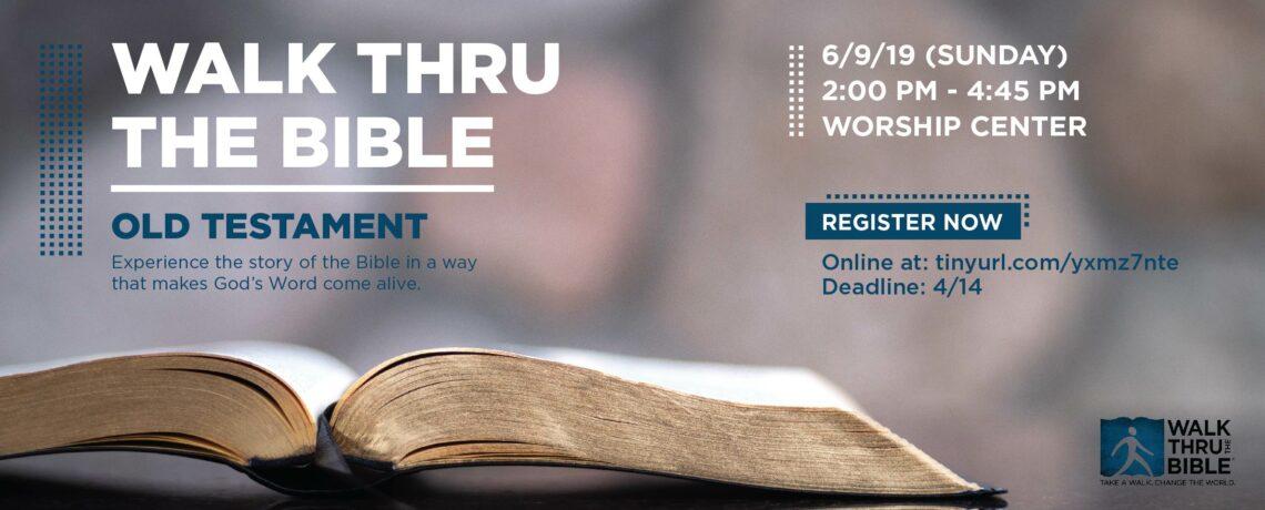 Walk Thru the Bible (Old Testament)
